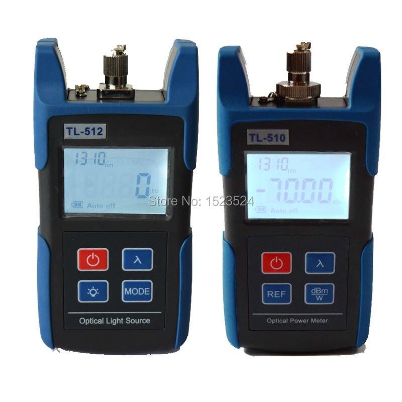 FTTH Optique Multimètre TL510A Optique Power Meter + TL512 1310/1550nm Optique Source de Lumière