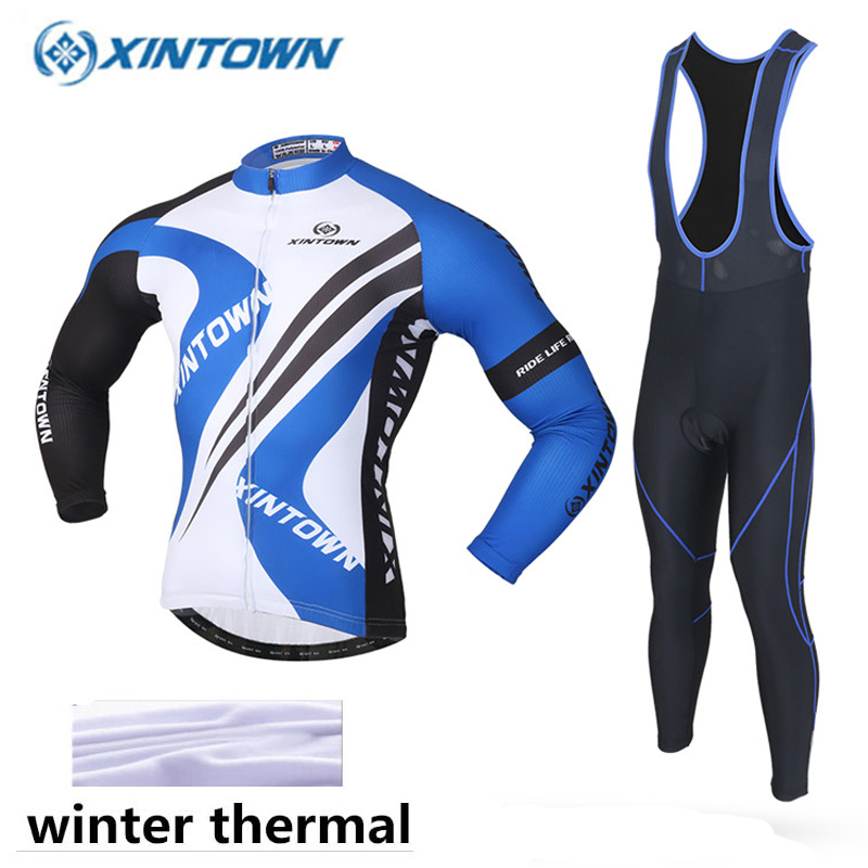 цены 2018 New Arrival Winter Cycling Clothing Thermal Fleece Cycling Jersey Long Sleeve MTB Ropa Ciclismo Hombre Bike Cycling Clothes