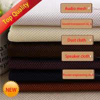 Altavoz de malla de alta calidad, tela tipo rejilla, filtro de rejilla estéreo, Audio a prueba de polvo