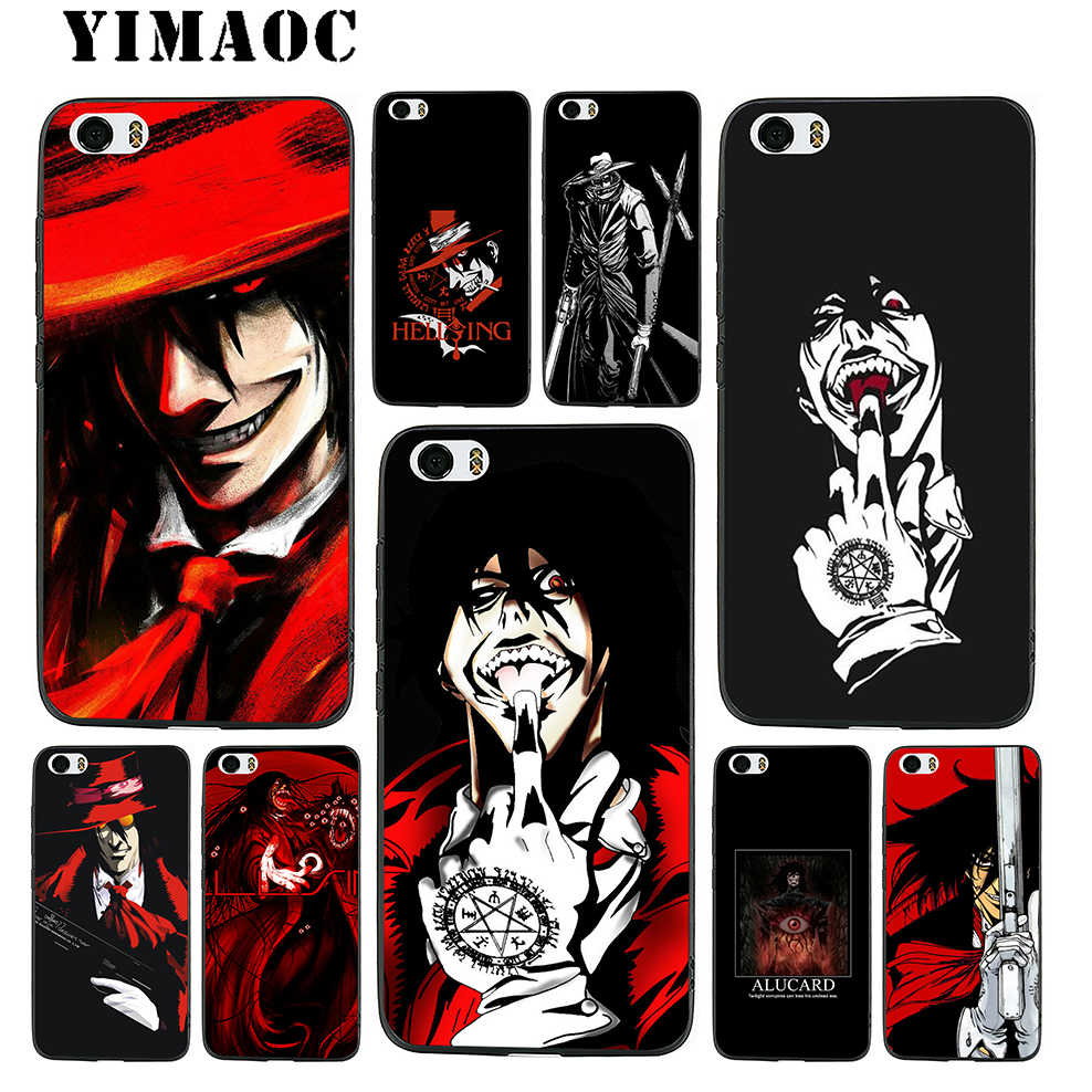 Alucard Pics yimaoc alucard hellsing anime soft silicone case for xiaomi redmi note 9 mi  8 se 7 6 6a a1 a2 4x 4a 5a 5 max 3 mia1 a2