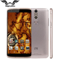 Original ZTE Axon Mini B2016 3 GB 32 GB Teléfono Móvil 5.2 pulgadas MSM8939 Octa Core 1.5 GHz Android 5.1 FHD 1920x1080 13MP huella digital
