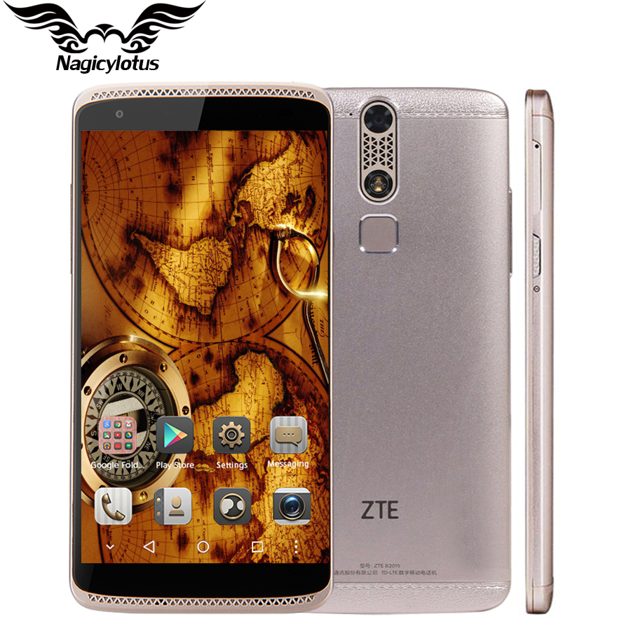Original ZTE Axon Mini B2016 3GB 32GB Mobile Phone 5 2 inch MSM8939 Octa Core 1