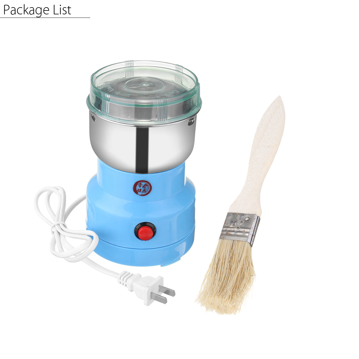 warmtoo Electric Herbs Spices Nuts Grains Coffee Bean Grinder Mill Grinding  DIY Tool Home Medicine Flour Powder Crusher-in Electric Coffee Grinders