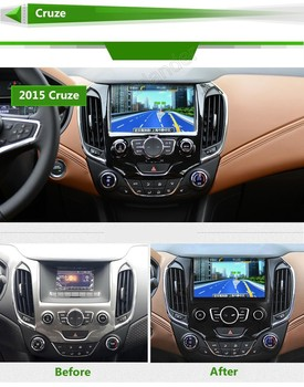 8 Inch In Dash 2 Din For Chevrolet Cruze 8inch Capacitive Touchscreen Car DVD GPS Player  Navigation Radio Bluetooth