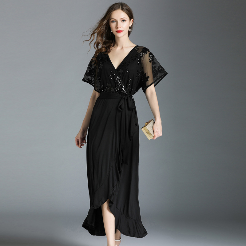 Buy sequin lace dress plus size and get free shipping on AliExpress.com a1601678f61c
