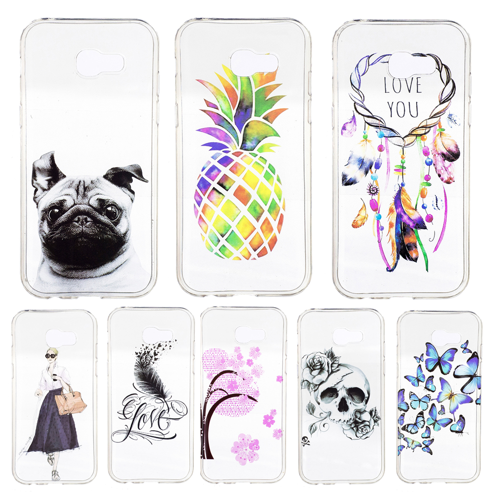 for coque samsung galaxy a3 2017 case silicone clear soft cover samsung galaxy a3 2017 a320. Black Bedroom Furniture Sets. Home Design Ideas
