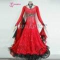 Salón competencia de baile latino vestido kebaya vestido B-12666