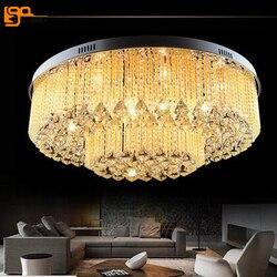Nowe piękne nowoczesne oświetlenie ledowe żyrandol do salonu sufit pokoju lampy kryształowe gwarantowane 100%