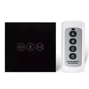 Image 5 - Akıllı ev perde anahtarı elektrikli perde dokunmatik uzaktan kumanda sensörü anahtarı
