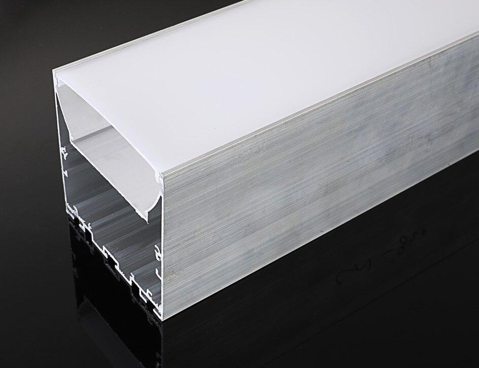 Envío gratis de alta calidad 76MM de ancho superfino perfil de aluminio LED canal Cove iluminación 2 m/unids 10 m/lote Mezclador de línea de 4 canales portátil de Audio Duk para grabación de estudio en Directo Mini mezclador de Audio estéreo Grabación de consola de estudio en Directo pasiva