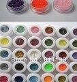 ¡ Promoción! 30 Colores Grueso glitter Sombra de Ojos En Polvo de Pigmentos Minerales de Colores de Sombra de Ojos MakeMealup BEMLP 06 W