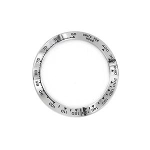 Image 2 - Rolamy 卸売高品質 316L ステンレス鋼シルバー黒文章 38.6 ミリメートル時計用 116500 116520