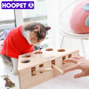 Image 3 - HOOPET Katze Interaktive Haustier Katze Spielzeug Spielen Fangen Spielzeug Spielen Übung Spielzeug Pet Produkte