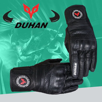 Duhan DS02 Motorcycle Gloves Genuine Leather Moto Racing Men Gloves Off Road Gloves Cowhide Motocross Winter