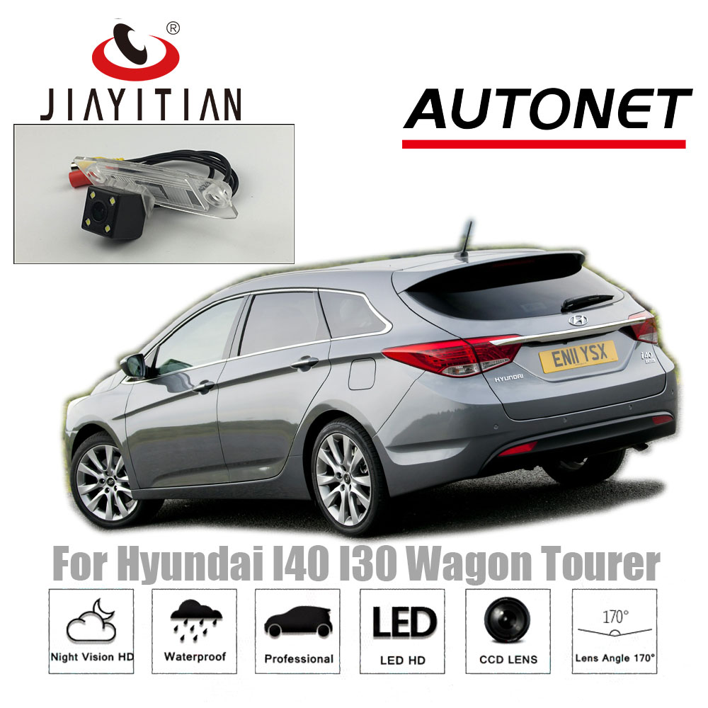 JIAYITIAN Rear View Camera For Hyundai I40 Wagon / I40 I30 Tourer CCD/Night Vision Backup Camera Reverse License Plate Camera