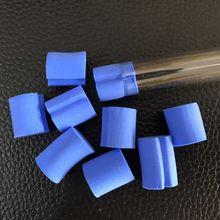 10 шт. синий трубчатый водоблок/вилка для муравьиной фермы акриловая влага с зоны кормления, насекомое муравьиная вилла домашнее животное продвинутый мания ферма муравьев