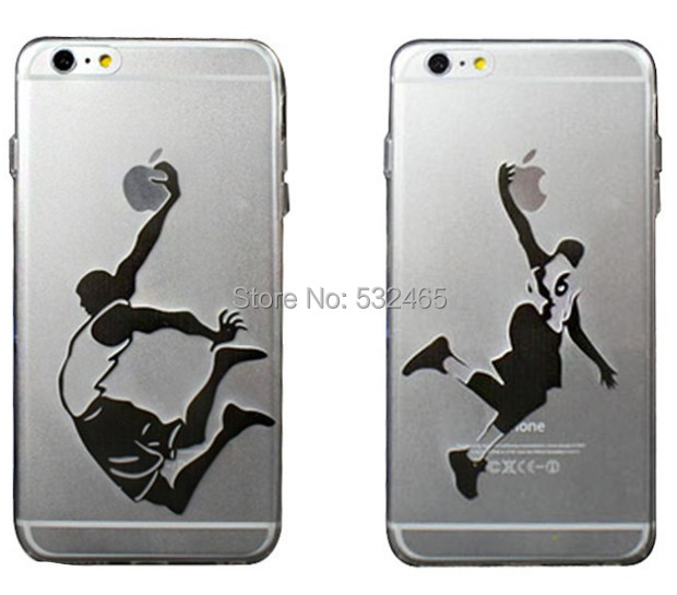 newest clear NBA basketball sports hand grasp logo cases