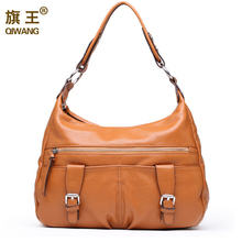 2016 Soft Large Genuine Leather Handbags for Women New Year Gifts for She Casual HOBO Purse Office Lady Bags on Sales Good Price