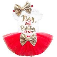 Baby Girl Birthday Dress Set