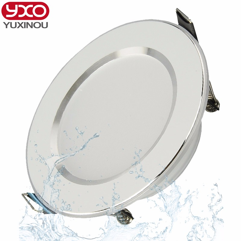 3pcs/lot Driverless waterproof dimmable free shipping led down light 5W 7W 9W 12W 15W lampada led,ceiling led,4 years warranty 5year warranty dimmable led track light 20w 120lm w 2 3 4 wire available commercial spot led ac100 240v 8pcs lot