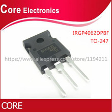 10 pz/lotto IRGP4062DPBF IRGP4062D IRGP4062D GP4062D IGBT 600V 48A 250W TO247AC