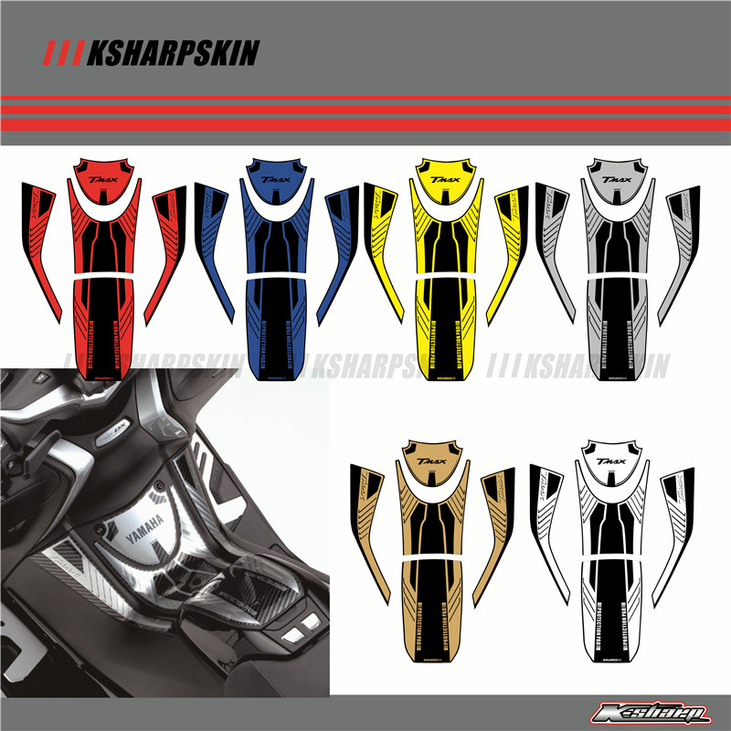 3D ADESIVI Sticker Decal Emblem Protection Tank Pad Gas Cap Fit YAMAHA TMAX530 TMAX 530 DX SX Sport 2017 2018