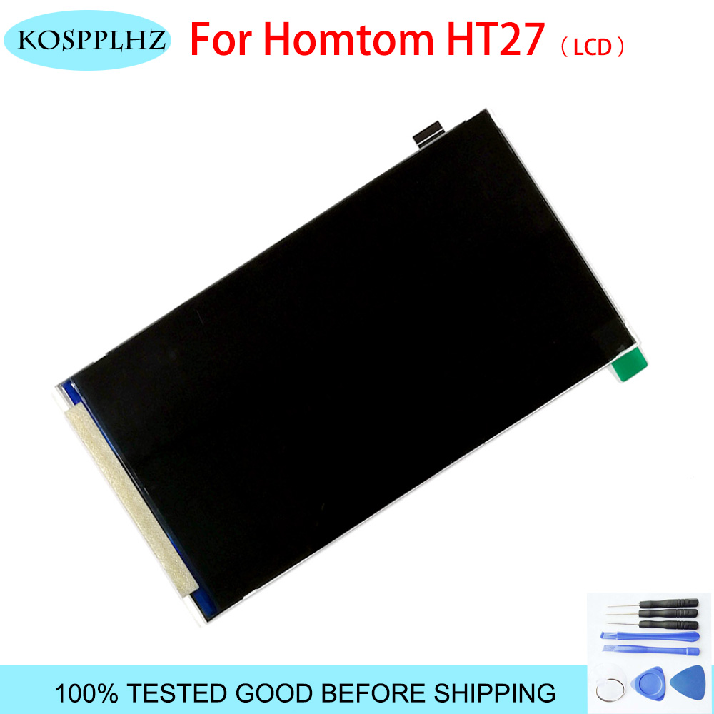 New For <font><b>HOMTOM</b></font> HT27 LCD Display Screen (without touchscreen) For <font><b>HOMTOM</b></font> <font><b>ht</b></font> <font><b>27</b></font> Perfect Repair Part 5.5 inch With Free Tools image