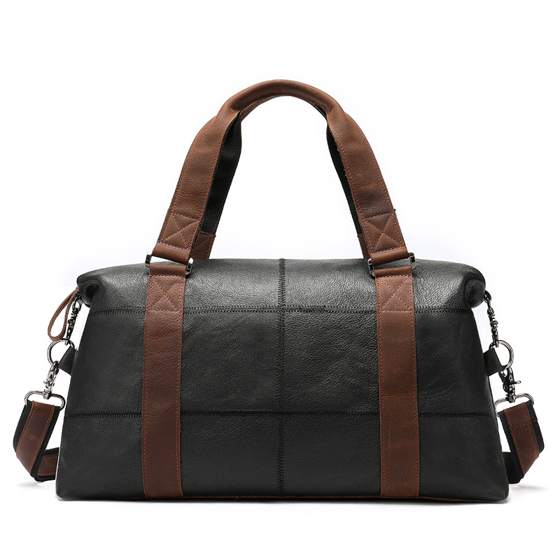 9527 New European and American  First-class Cowhide Leather Handbag Mens Bags Large-capacity Simple One-shoulder Baggage Bag9527 New European and American  First-class Cowhide Leather Handbag Mens Bags Large-capacity Simple One-shoulder Baggage Bag