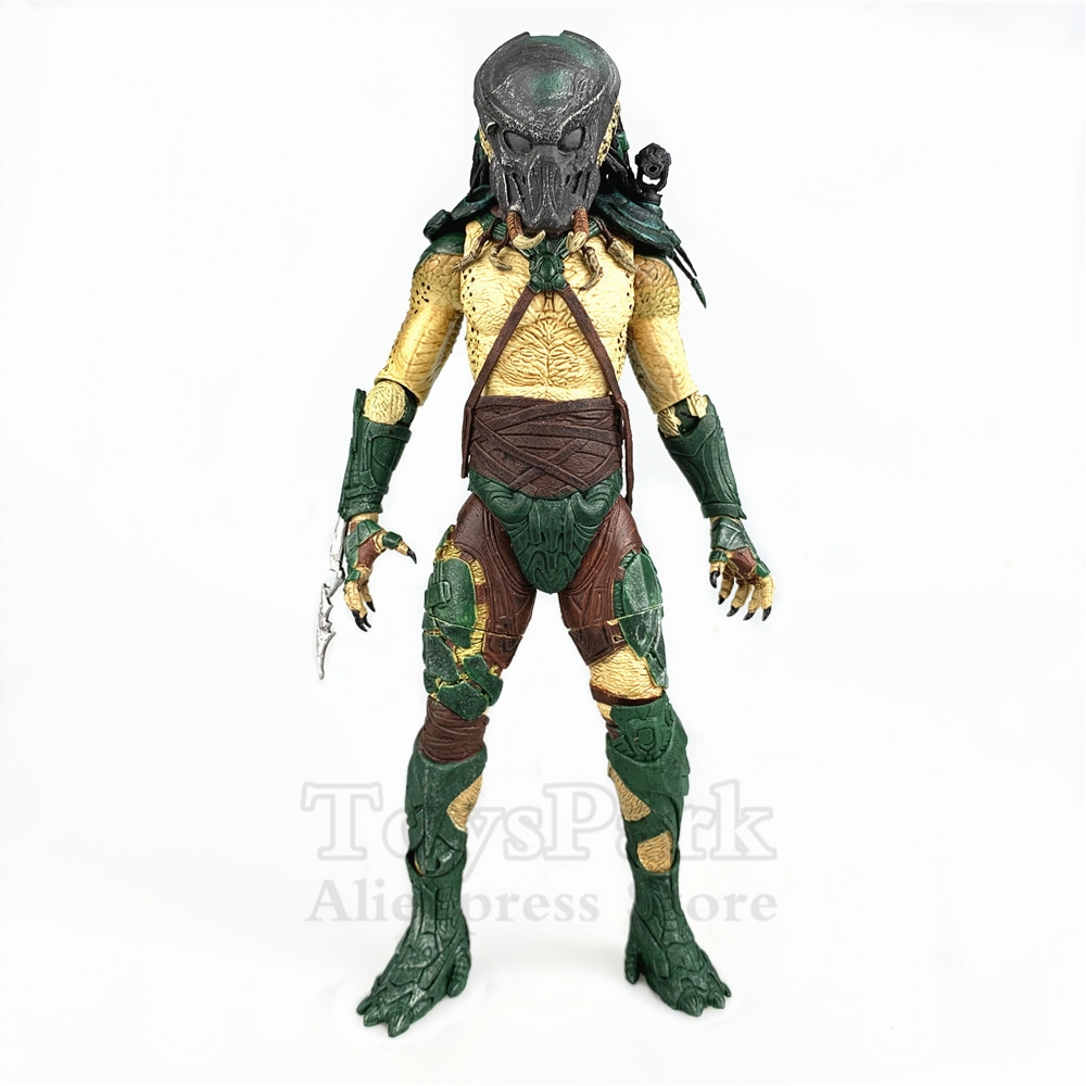 RARE Predators Series 2 Tracker Predator 7 Scale Action Figure Original NECA Real Toys Collectible Dolls