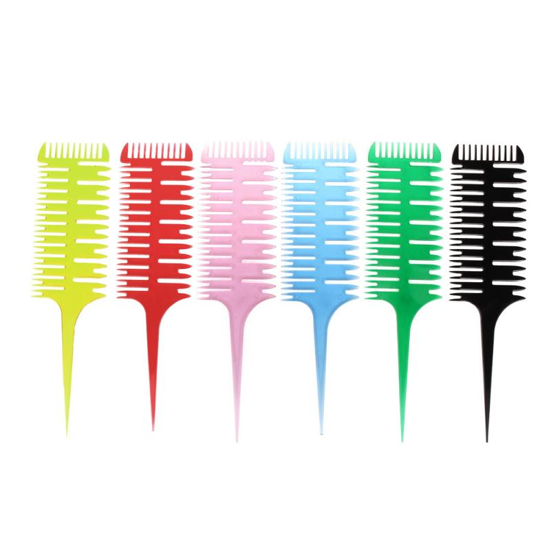 Style Beauty Salon Barber Hair Comb With Fish Tail Bone Shape Comb Dyeing Tool   X7075Down