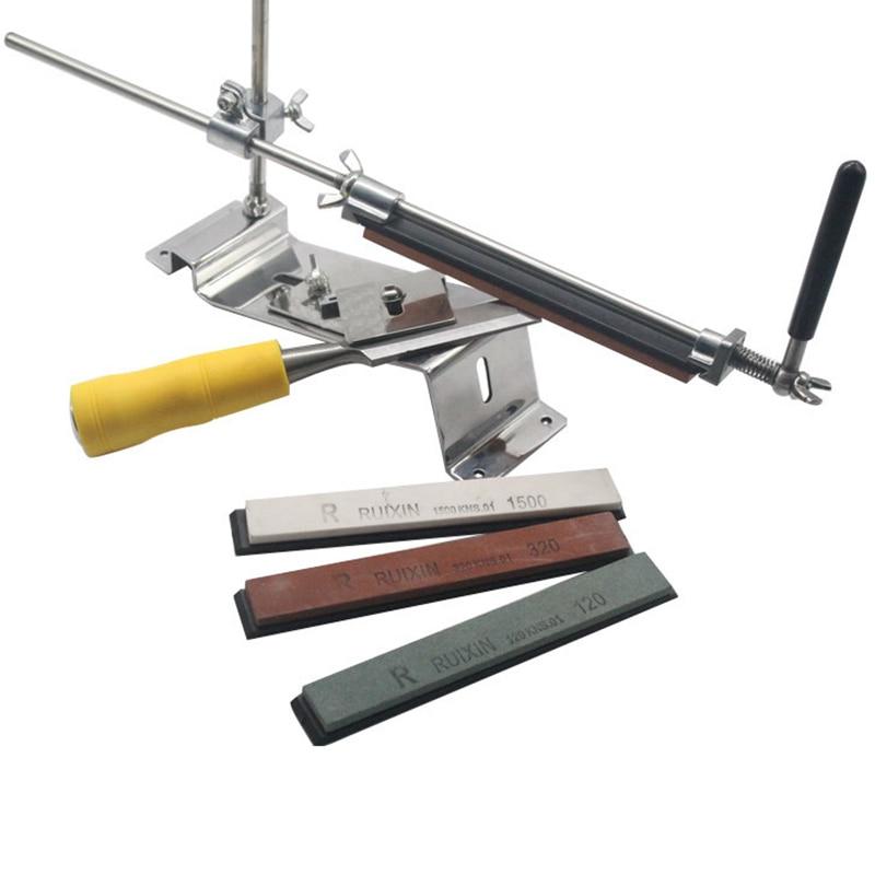 Stainless Steel Professional Kitchen font b Knife b font Sharpener System Sharpen Afiador De Faca Afilador