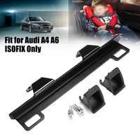 Child Safety Seat Interface For Audi A4 A6 ISOFIX Latch Connector Bracket Seat Belt Buckle Bracket In Driver's Back Seat