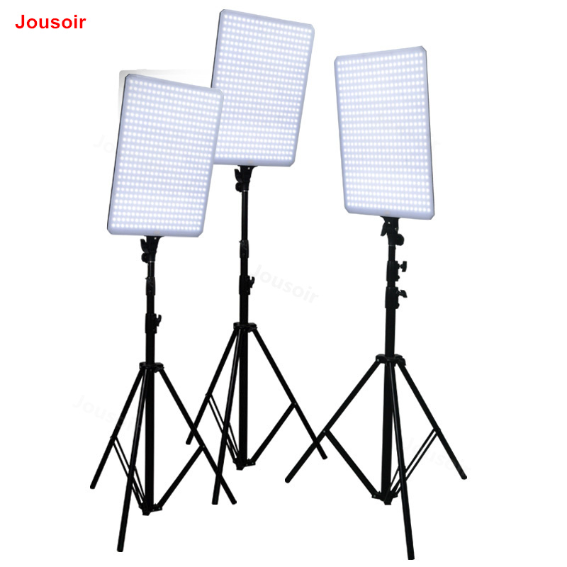 Nanguang luces LED kit de fotografía CN-T504 tres luces lámpara led de atenuación lámpara de estudio de tela retrato modelo kit de CD50 t01