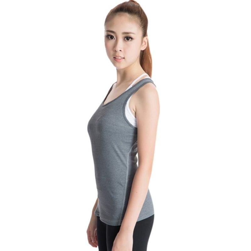 Hot Sale Fitness Running Dancing Clothing Aerobics Gym Sports Womens Yoga Vest Tank