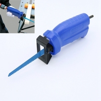 Reciprocating saw electric drill attachment new power tool accessories Metal Cutting wood Cutting Tool have 3 blades