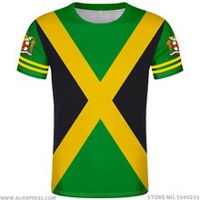 JAMAICA t shirt diy free custom made name number jam t shirt nation flag jm Jamaican country college print photo logo 0 clothing