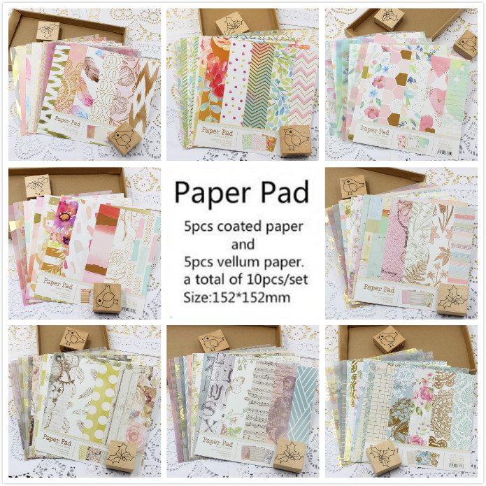 Back To Search Resultshome & Garden Supply Vyutxa Beautiful Flower Patterns Vellum Paper For Scrapbooking Diy Projects/photo Album/card Making Crafts Stickers