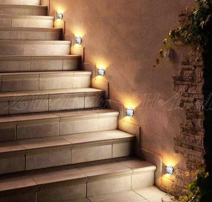 IP68 Waterproof CREE LED Floor Decking Lights 3 2W LED Underground Lighting Buried Lamps Spot Encastrable