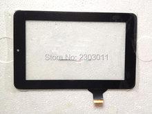 Novo 7 tablet tablet tablet pc digitador para onda v701, v702 sensor de vidro da tela de toque