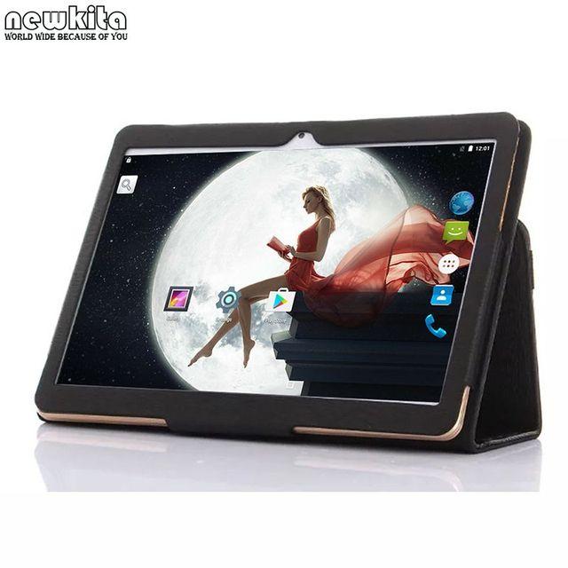 Novo 9.6 polegada 3G Phone Call Android 5.1 Quad Core 1280*800 IPS Tablet PC WiFi 2G + 16G 8 9 10 Android Tablet PC WiFi Bluetooth GPS