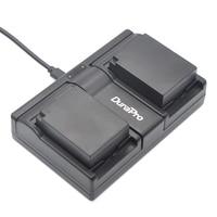 DuraPro 2Pcs DMW BLC12 BLC12E BLC12PP Battery USB Dual Charger For Panasonic Lumix DMC G5 G6