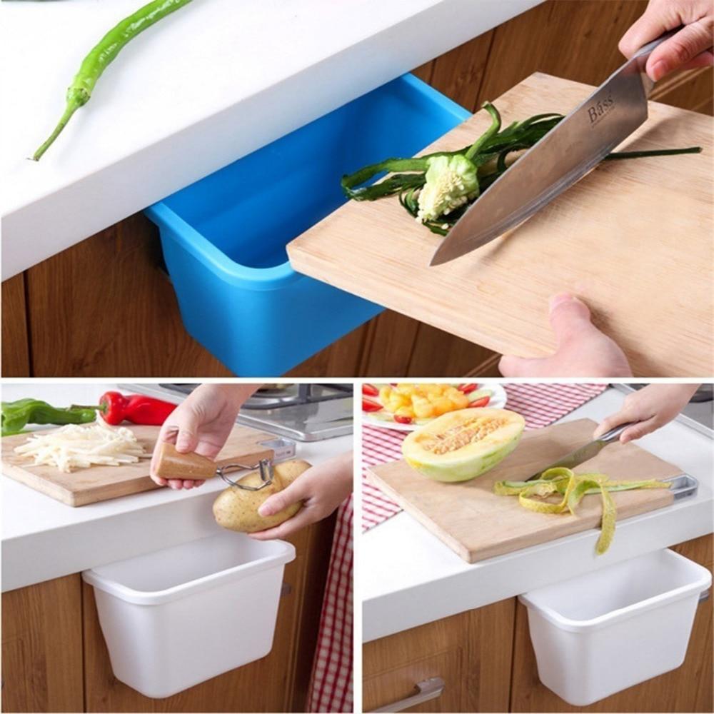 פלסטיק תליית שולחן העבודה תיבת אחסון - סחורה ביתית