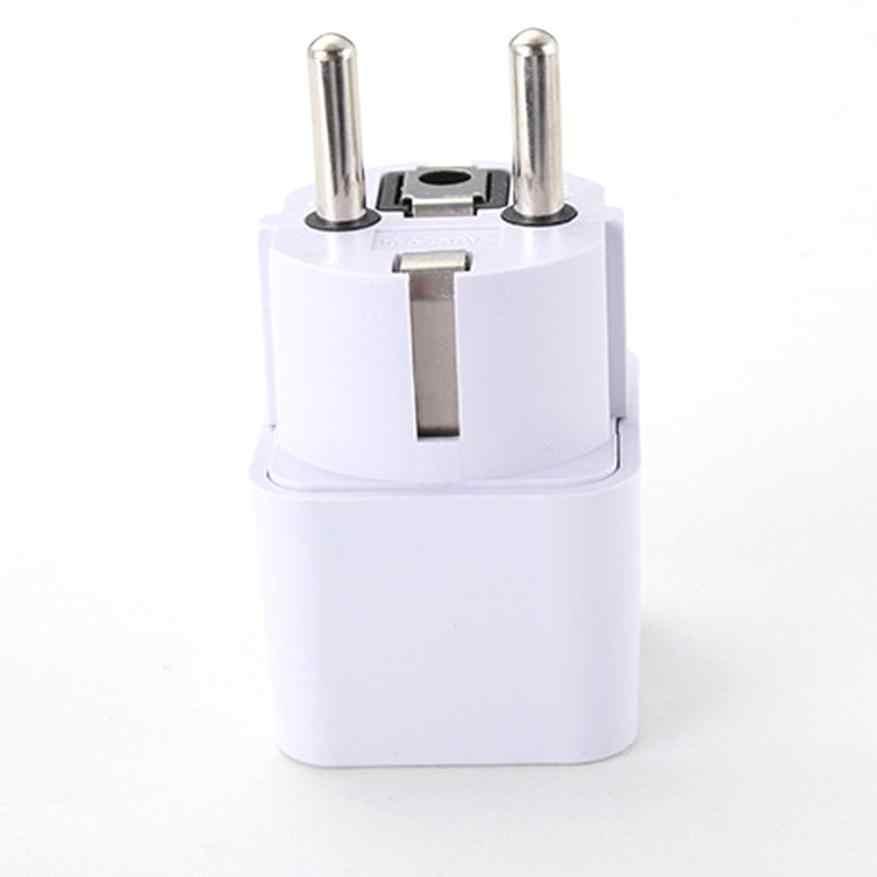 Universal UK US AU ไปยัง EU AC เสียบปลั๊ก USB Smart SOCKET Travel Adapter อะแดปเตอร์แปลง dropshipping