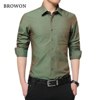 2016 Brand New Mens Dress Shirt Long Sleeve Cool Shirt Candy Color Plus Size 5XL Turn