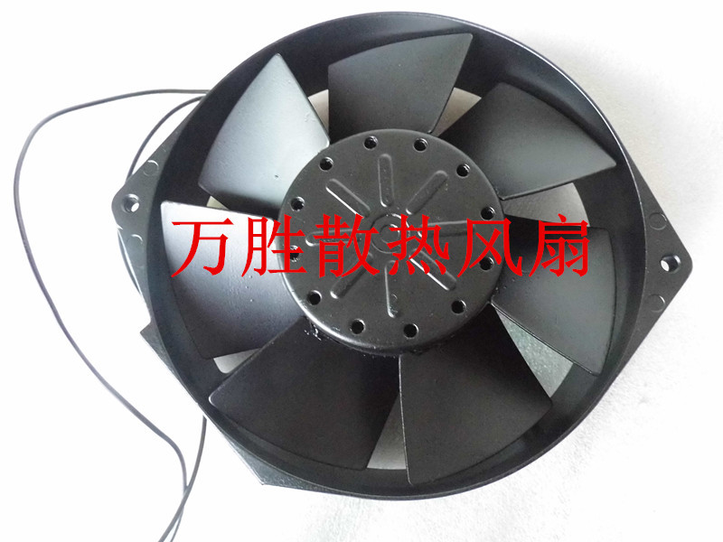 16038 200V 50 / 80W S15D20-M all-metal high temperature industrial cooling fan