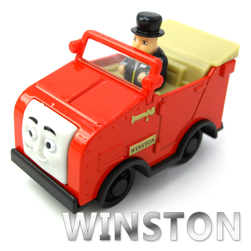 Diecasts Vehicles Thomas T140D WINSTON Thomas And Friends Magnetic Tomas Truck Car Locomotive Engine Railway Train Toys for Boys