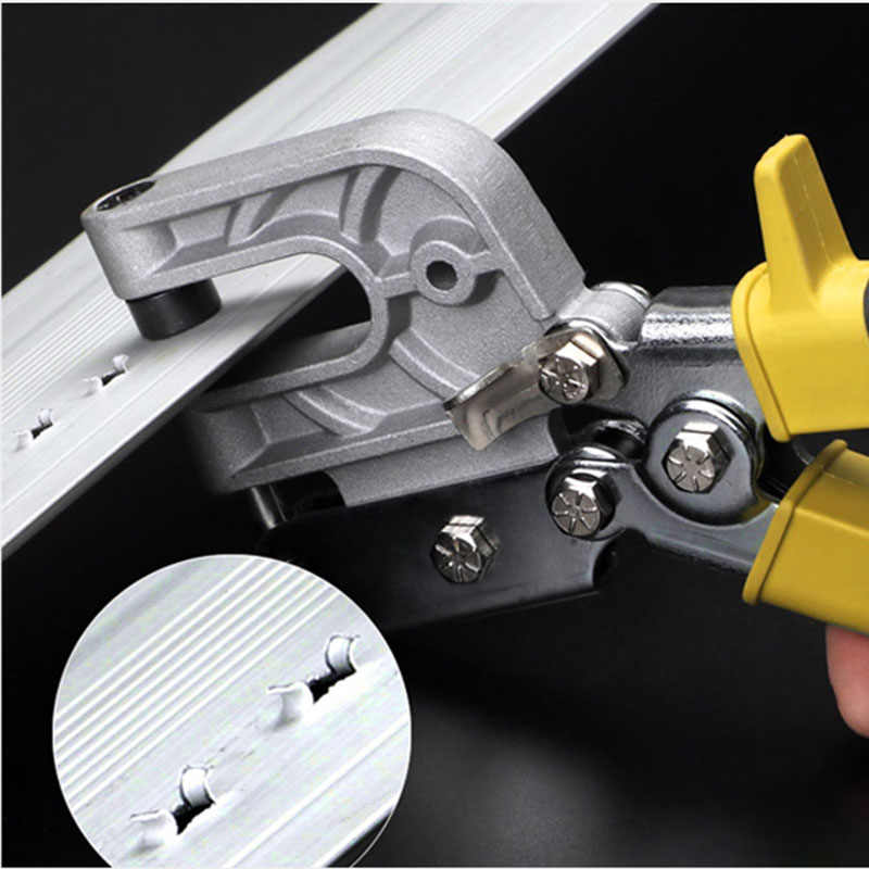 Metal omurga kelepçe pense dekoratif tavan perçinleme için 0.5-0.8mm ahşap forseps kurulum el aletleri
