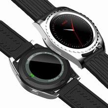 Original Uhr Smart Uhr Track Tragbare Geräte Bluetooth 4,0 Smartwatch Pulsmesser Schrittzähler Dialing Für Android IOS
