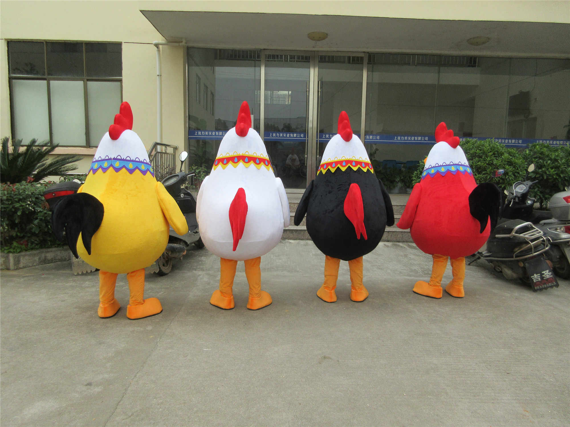 Details about  /Halloween Chicken Mascot Cute Party Fancy Dress US Hot Costume Cock Rooster Hen