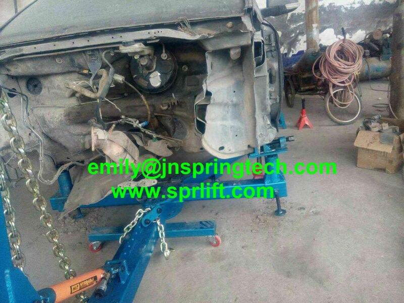 Portable auto body collision repair frame machine SP 6F 3500Kgs Car ...